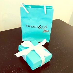 Tiffany gift bag (special edition) + box
